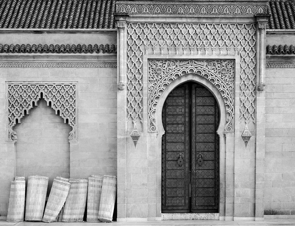 Door--Tomb of Hassan II